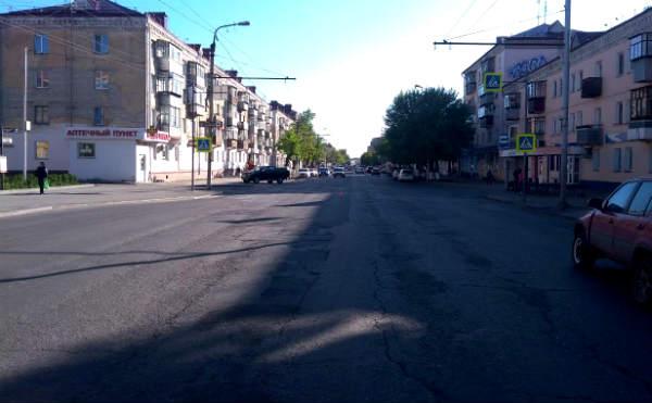 В Кургане автоледи сбила двух пешеходов на переходе