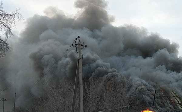 В Курганской области во время пожара погибла женщина