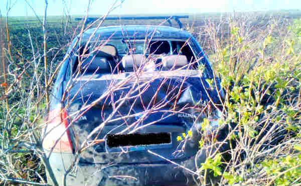В Шадринском районе водитель уснул за рулем и улетел в кювет
