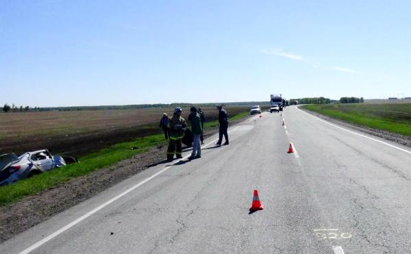 В Зауралье в ДТП с КАМАЗОМ погибли водитель и пассажир «RENAULT LOGAN»