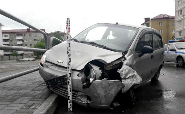 В Кургане 70-летний водитель попал в ДТП в центре города