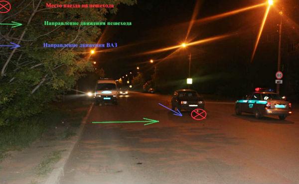 В Кургане ищут очевидцев наезда автомобиля на женщину