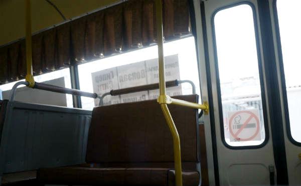 В Кургане ищут очевидцев падения пассажира в автобусе