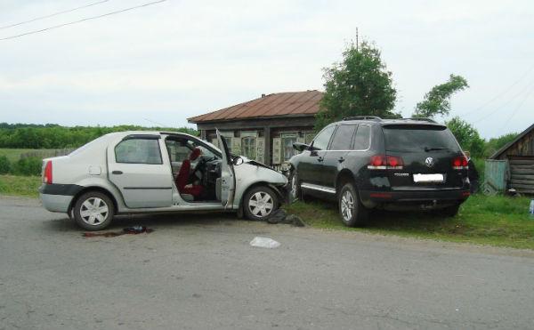 В Курганской области в ДТП на деревенской улице погиб пенсионер