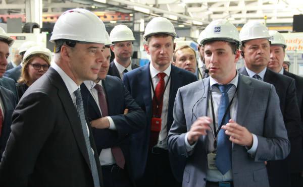 Российские министры оценили производительность труда в АО «Новомет-Пермь»