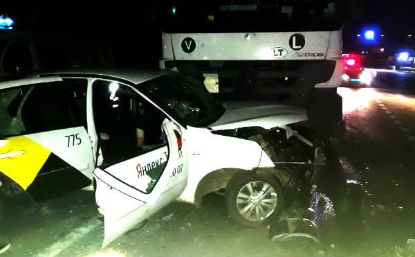 В Курганской области произошло смертельное ДТП с «Яндекс.Такси»
