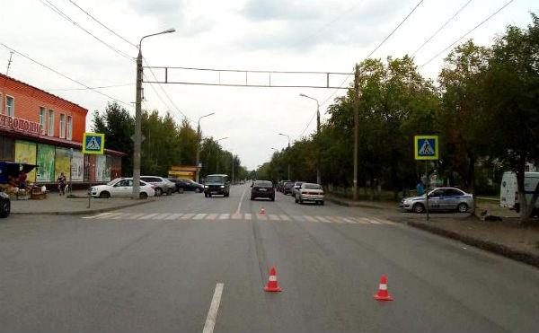 В Кургане на улице Гагарина насмерть сбили пешехода