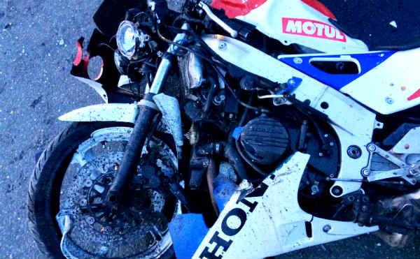 В Кургане погиб мотоциклист