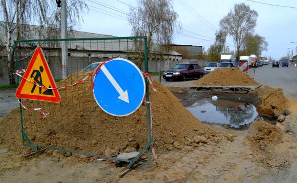 В Кургане улицу Омская закрывают для движения до конца августа