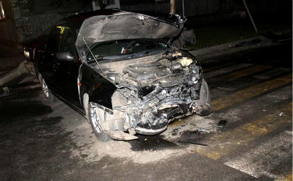 В Кургане в аварии пострадали три ребенка