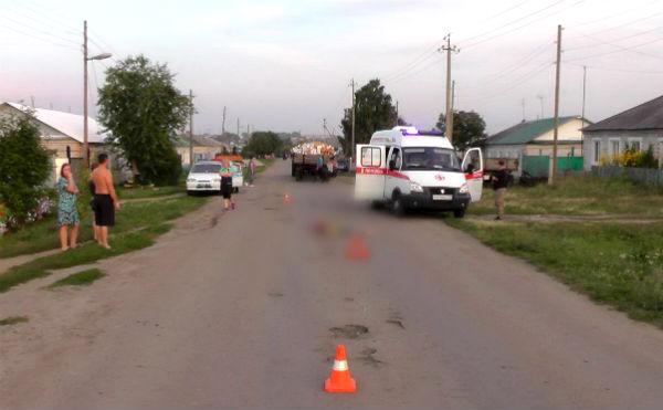В Зауралье девочка погибла под колесами тракторного прицепа