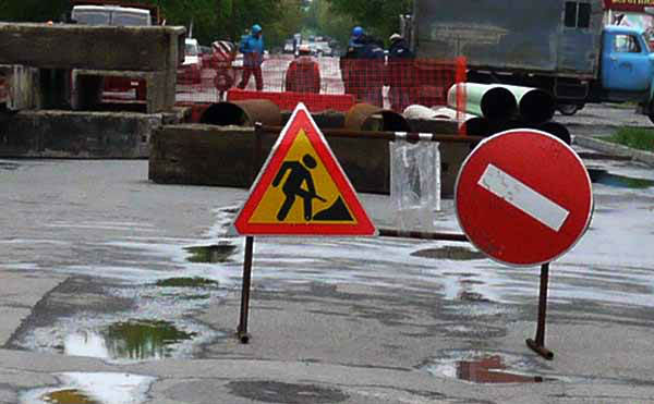 В Кургане на месяц перекроют участок улицы Куйбышева