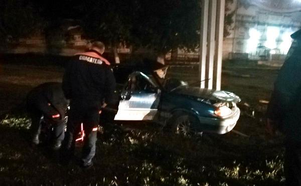 В Кургане в ДТП погиб водитель легковушки