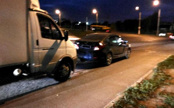 В Кургане в ДТП с «Газелью» пострадала автоледи
