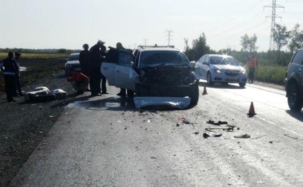 В Курганской области в ДТП пострадали двое иностранцев
