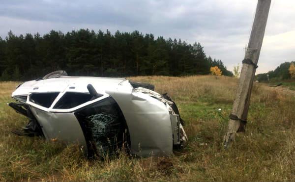 В Курганской области в ДТП пострадали водитель и его спутница