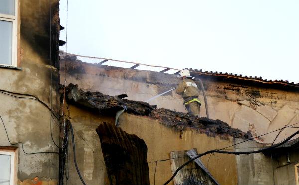 В Кургане на литейном заводе произошел крупный пожар