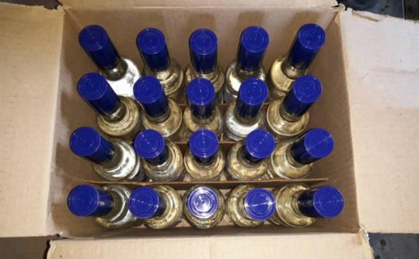 В Зауралье у местного жителя нашли склад с нелегальным алкоголем