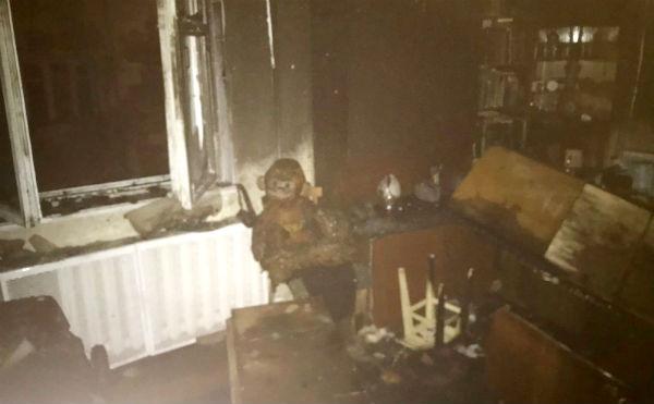В Кургане во время пожара погибли отец и сын