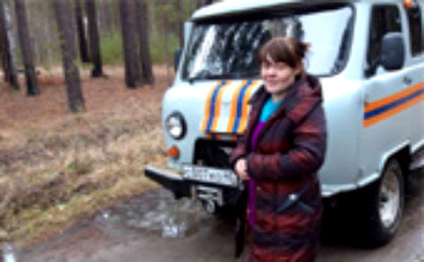 В Курганской области нашли заблудившуюся в лесу женщину