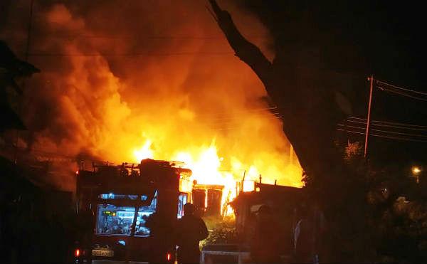 В Курганской области во время пожара погибла 53-летняя женщина
