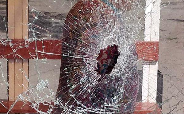 Курганца, разбившего остановку, будут судить за вандилизм