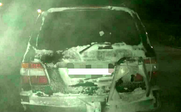 Курганец отомстил бывшей жене спалив машину