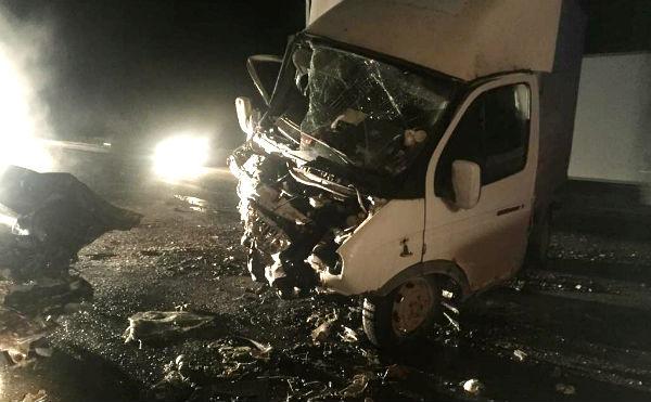 Под Курганом в ДТП погибли три человека
