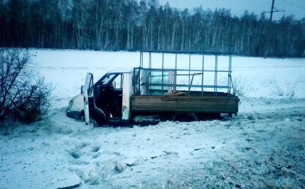 В Курганской области на трассе погиб водитель «Газели»