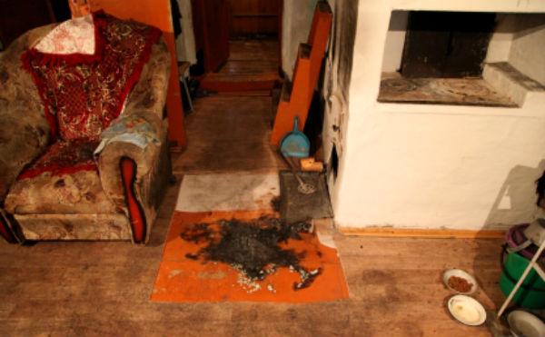 Зауралец убил 70-летнего пенсионера и поджог его дом