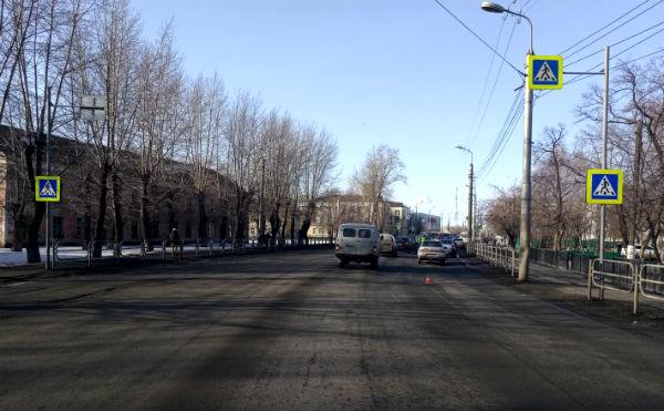 В Кургане на пешеходном переходе ВАЗ сбил пенсионерку
