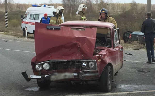 В Курганской области в ДТП пострадали три жителя соседнего региона